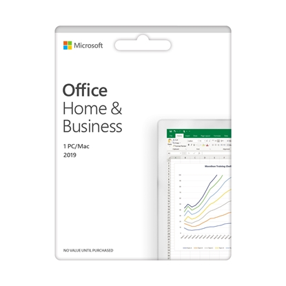 Picture of Microsoft Office Home and Business 2019, English, EuroZone Medialess