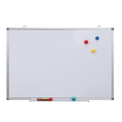 Picture of Top Office Magnetic whiteboard with aluminum frame, 120 x 240 cm