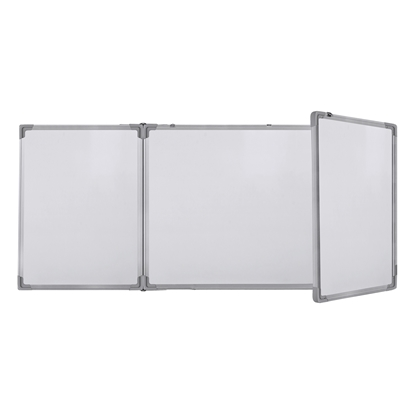 Picture of Top Office Triple magnetic whiteboard, 120 x 480 (120/240/120) cm