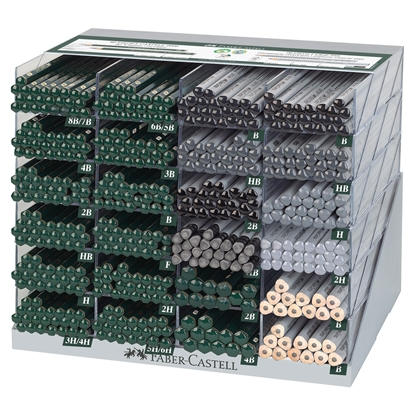 Picture of Faber-Castell Pencils Grip 2001/9000, 528 pcs. per display