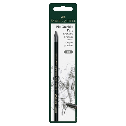 Picture of Faber-Castell Graphite pencil Pitt Graphite Pure, 3B, in blister
