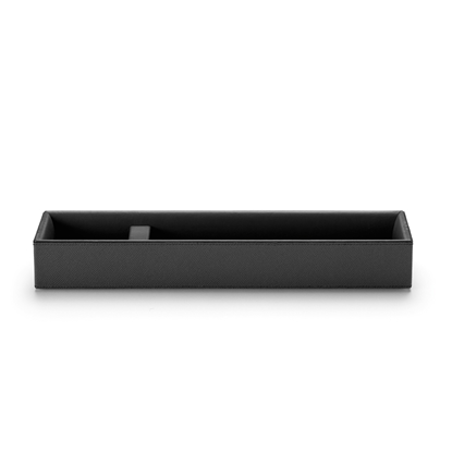 Picture of Graf von Faber-Castell Pen tray Pure Elegance, leather, black