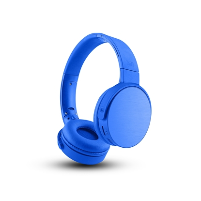 Picture of TnB Shine 2 Headphones with Bluetooth, 4 in 1, blue