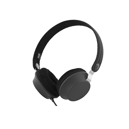 Picture of TnB Legend Headphones with integrated microphone and cable, black