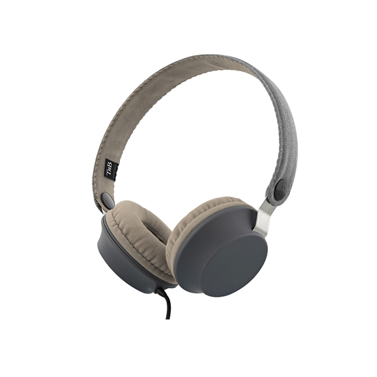Picture of TnB Legend Headphones with integrated microphone and cable, grey