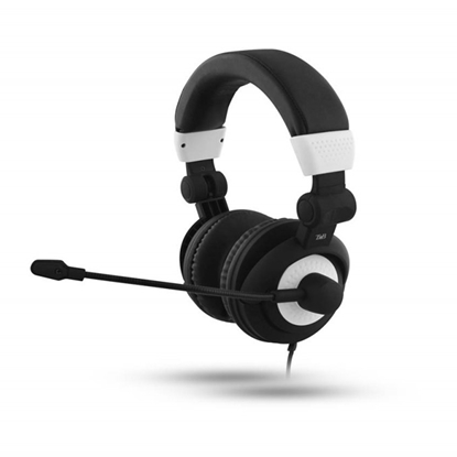 Picture of TnB HS400 Headphones with Microphone, black