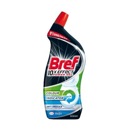 Picture of Bref soap for cleaning toilet 10x Effect, gel, Anti-Limescale, 700 ml