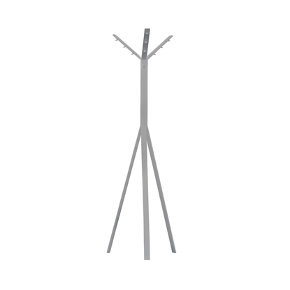 Picture of Cloth hanging stand Leader, H170, grey metal