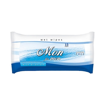 Picture of Mon Wet wipes, for men, 15 pcs