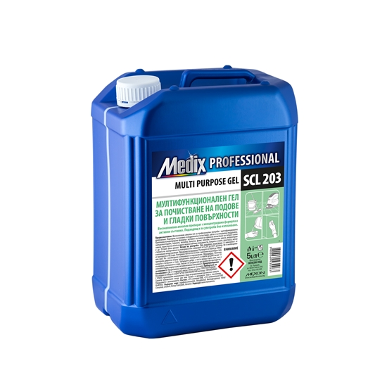 Picture of Medix Professional Multi-purpose gel for cleaning floors and smooth surfaces, SCL 203, 5 l