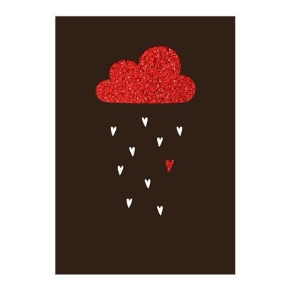 Picture of Gespansterwald Greeting card Deluxe, cloud