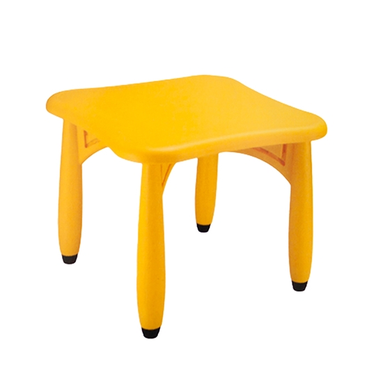 Picture of Childrens table, square, yellow
