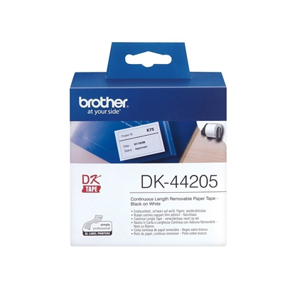 Picture of BROTHER DK44205 TAPE 62MM x30.48M