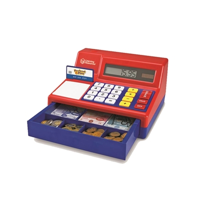 Picture of Cash register with toy money
