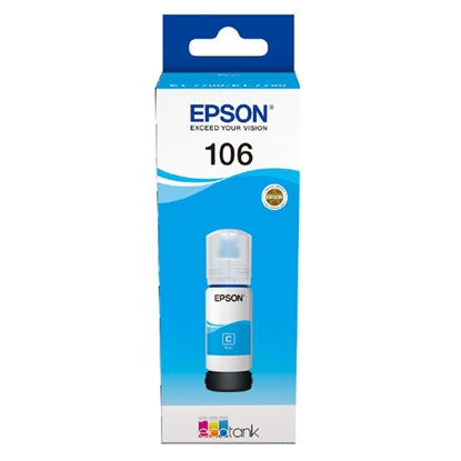 Picture of Epson 106 Ecotank L7180/L7160 Ink, cyan, 5000 pages/5%
