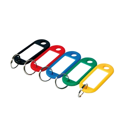 Picture of Argo Key Holders with tag, coloured, 20 pcs.