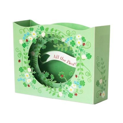 Picture of Gespaensterwald 3D Greeting card, All the best