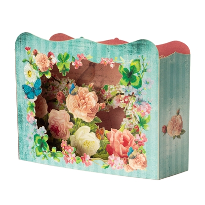 Picture of Gespaensterwald 3D Greeting card, Flowers
