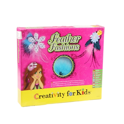 Picture of Faber-Castell set Creativity for Kids, Tiaras with feathers