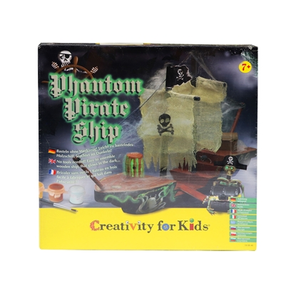 Picture of Faber-Castell set Creativity for Kids, large pirate ship