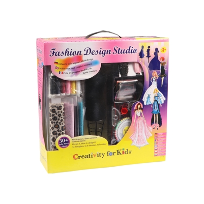 Picture of Faber-Castell set Creativity for Kids, Fashion studio