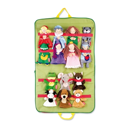 Picture of Bag with 14 hand puppets