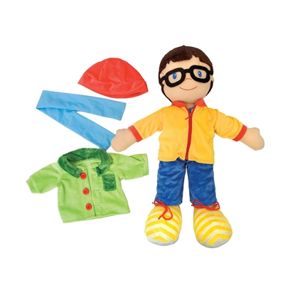 Picture of Play doll, boy, with clothes, 75 cm
