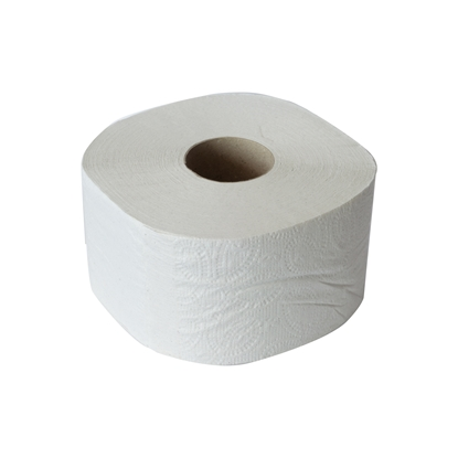 Picture of Toilet paper, jumbo, three-layered, bleached, 400 g, 12 pcs