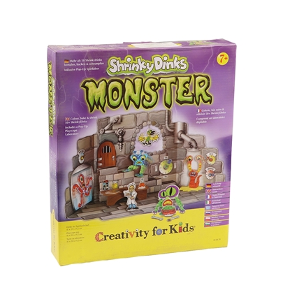 Picture of Faber-Castell set Creativity for Kids, Monsters Shrinky Dinks