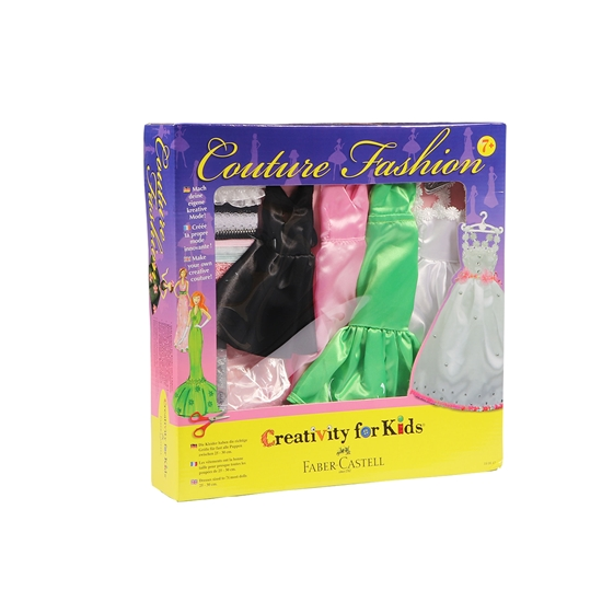 Picture of Faber-Castell set Creativity for Kids, Dresses