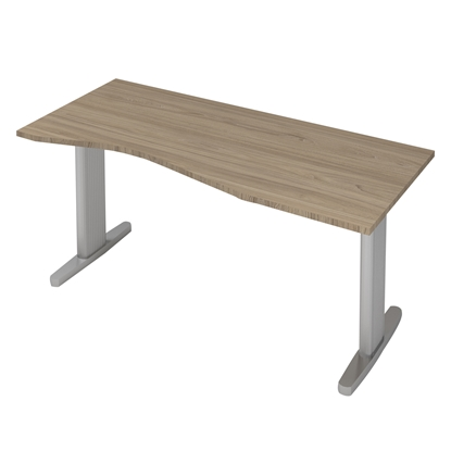 Picture of B802GR Desk, 160 x 70 x 74 cm, ash