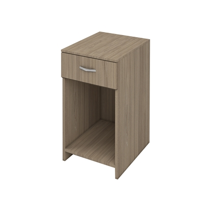 Picture of K8 Container with 1 drawer, 40 x 35 x 58 cm, ash