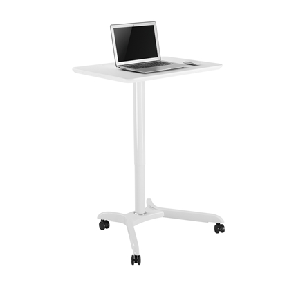 Picture of RFG Mobi table, adjustable height, 71 x 50 x 76 - 121 cm, white