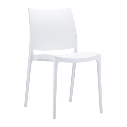 Picture of RFG Milano Chair, plastic, white