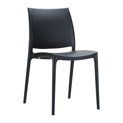 Picture of RFG Milano Chair, plastic, black