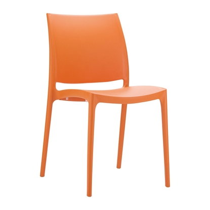 Picture of RFG Milano Chair, plastic, orange