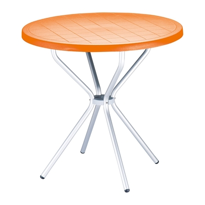 Picture of RFG table Party, plastic, orange