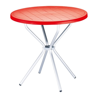 Picture of RFG table Party, plastic, red