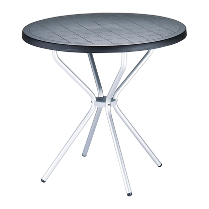 Picture of RFG table Party, plastic, black