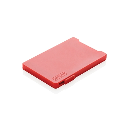 Picture of XD case for cards RFID, with 4 pockets, red