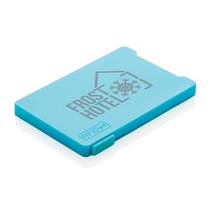 Picture of XD case for cards RFID, with 4 pockets, lightblue