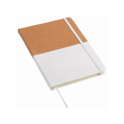 Picture of TOPS Notepad Corky in format DIN A5, brown-white