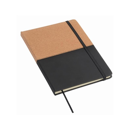 Picture of TOPS Notepad Corky in format DIN A5, brown-black