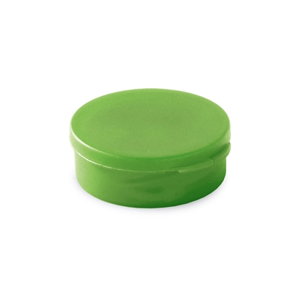 Picture of Hi!dea headphones Music S, green, in a round box