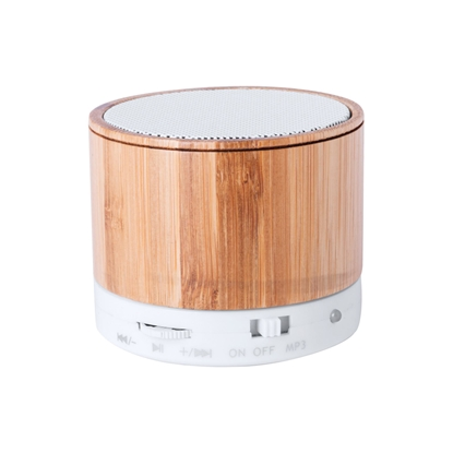 Picture of Cool speaker Kaltun, with Bluetooth, bamboo
