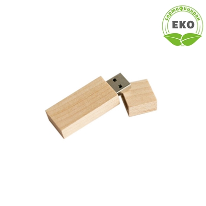 Снимка на Office 1 Superstore USB флаш памет Woody, 16 GB, USB 2.0, без лого