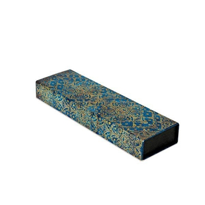 Picture of Paperblanks Desk pencil case Azure, 220 x 30 mm, with two compartments