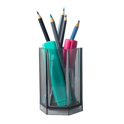 Picture of HAN Pen holder Klassik Signal, transparent, assorted