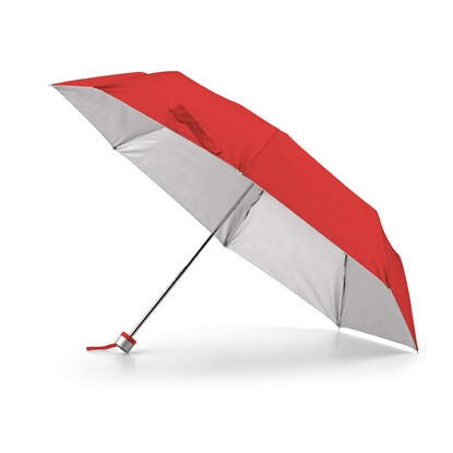 Picture of Hi!dea Umbrella Compact, bendable, red