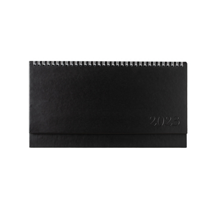 Picture of Desk calendar-Notepad ethna, 29 x 13 cm, 62 pages, black